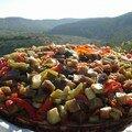 Tarte ricotta - légumes rôtis de véro