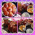 Brioche turque et sa délicieuse confiture d'abricot