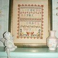 patricia, alphabet avec perles