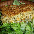 Gratin de sarrasin aux carottes et aux noisettes