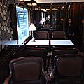 Voiture Bar Train Bleu