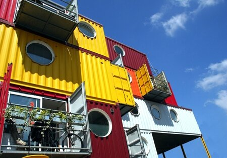 appartements containers
