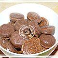 Petites bouchées chocolat - mascarpone