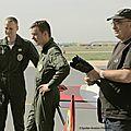 Les 2 pilotes de voltige de l'Armée Française en entretien avec les spotters