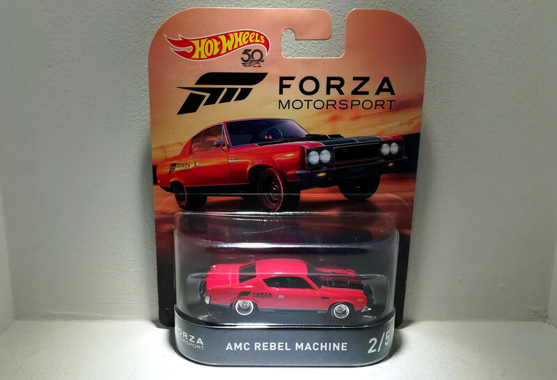 Amc Rebel Machine (Hotwheels) 01