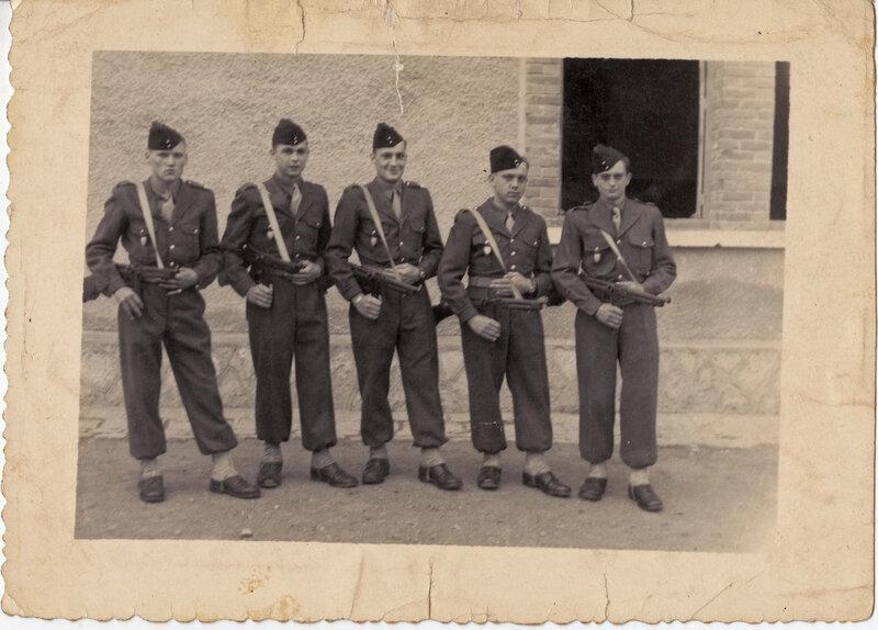 14 Souvenir du 1er défilé de Paul 23 juin 1954