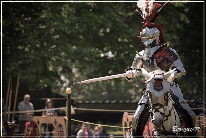 Joutes Chevalerie Initiatique — à Château de Brézé