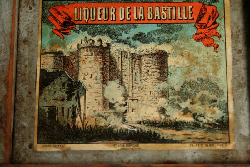 Maison Lillet -affiche, étiquette et plaque émaillée