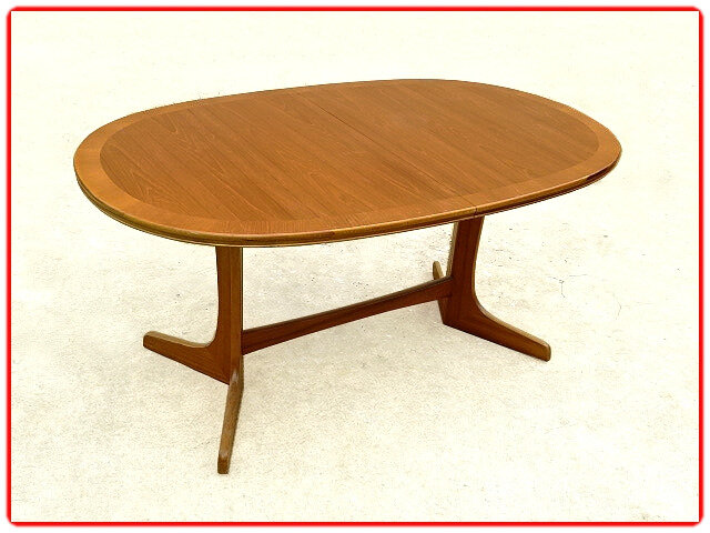 table design scandinave d'occasion teck