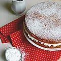 Sponge victoria's cake ou victoria's sponge cake