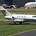 Aéroport Tarbes-Lourdes-Pyrénées: Private: Hawker Beechcraft 850XPi: N850EM: MSN 258876.