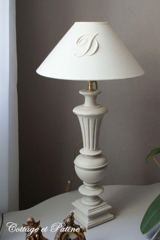 balustres mont u00e9es en lampes - cottage et patine