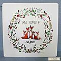 LR23 - Ma Famille ma force 3 renards ©La Ringlette