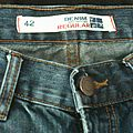 Pantalon en jean denim regular tex (42)
