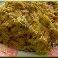 Mes tagliatelles aux saumon/brocolis