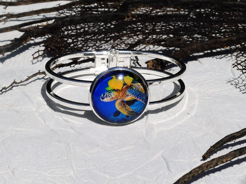 bijoux colores made in guyane par louise indigo tortue bleue (2)