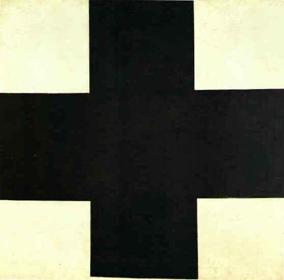 Kasimir Malevitch, Croix noir, 1923