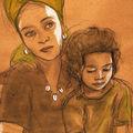 Aurélie Balla et sa fille