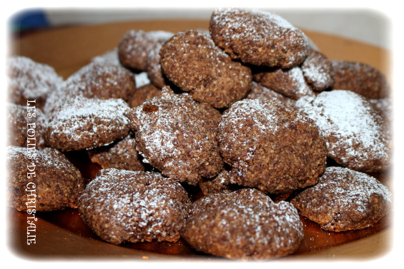 Macarons noisette chocolat 4