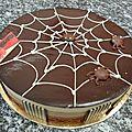 Beaux gâteaux d'hallowen