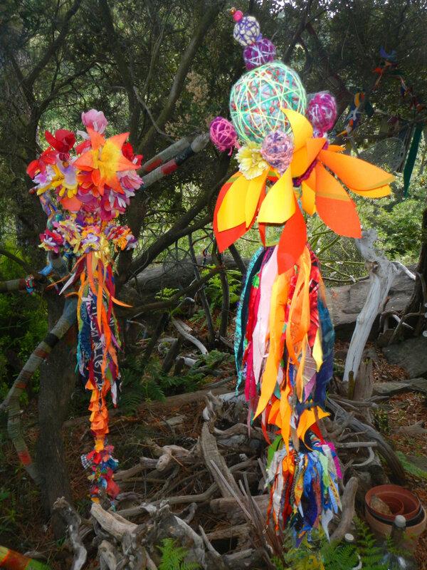 deux fleurs totem yurtao