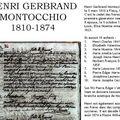 Montocchio Henri Gerbrand 1810-1874