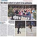 On en parle dans la presse : le gala du 29 décembre