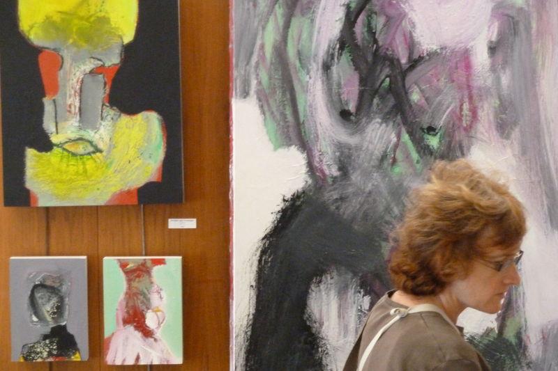 Exposition Bibliothèque Bordeaux Grand Parc - 2010