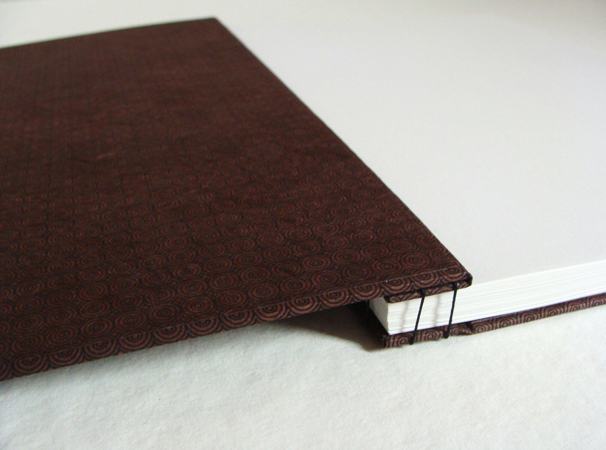cahier reliure japonaise
