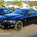 Shelby GT 500 de 2013 (Rencard Burger King juin 2013) 01