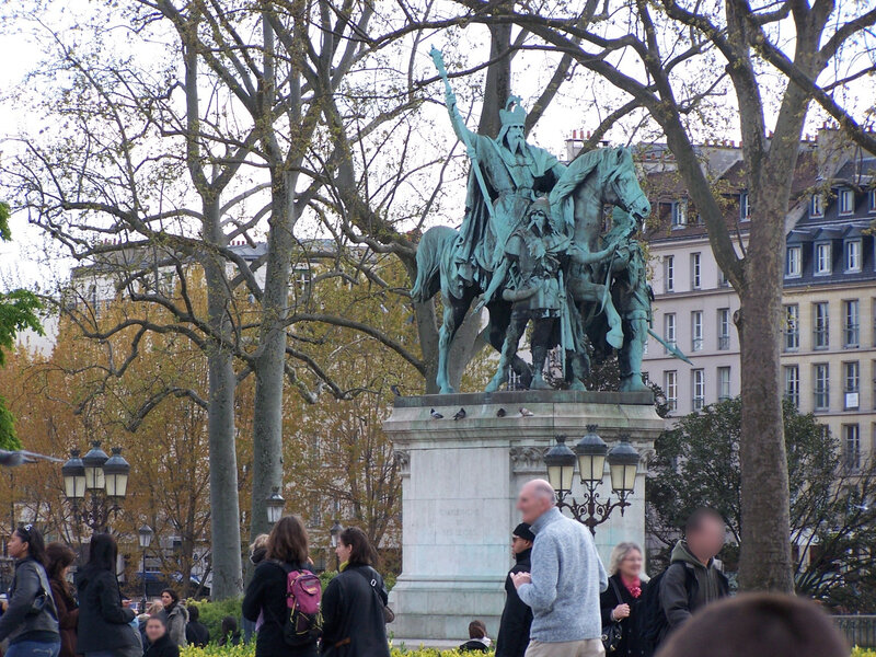 Statue Charlemagne