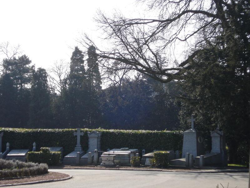 cimetière d'ixelles, l'entrée