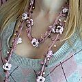 Catégorie 06 / Collier de printemps au crochet