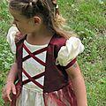 Rose-rouge pour une petite princesse