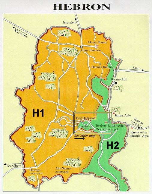 carte zones H1 et H2