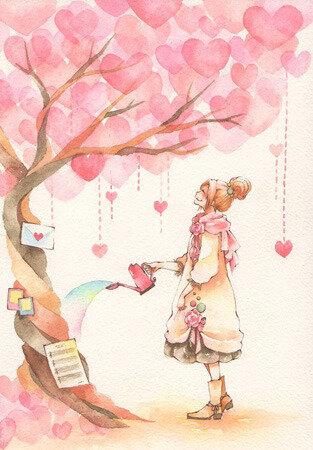 arbre a coeurs