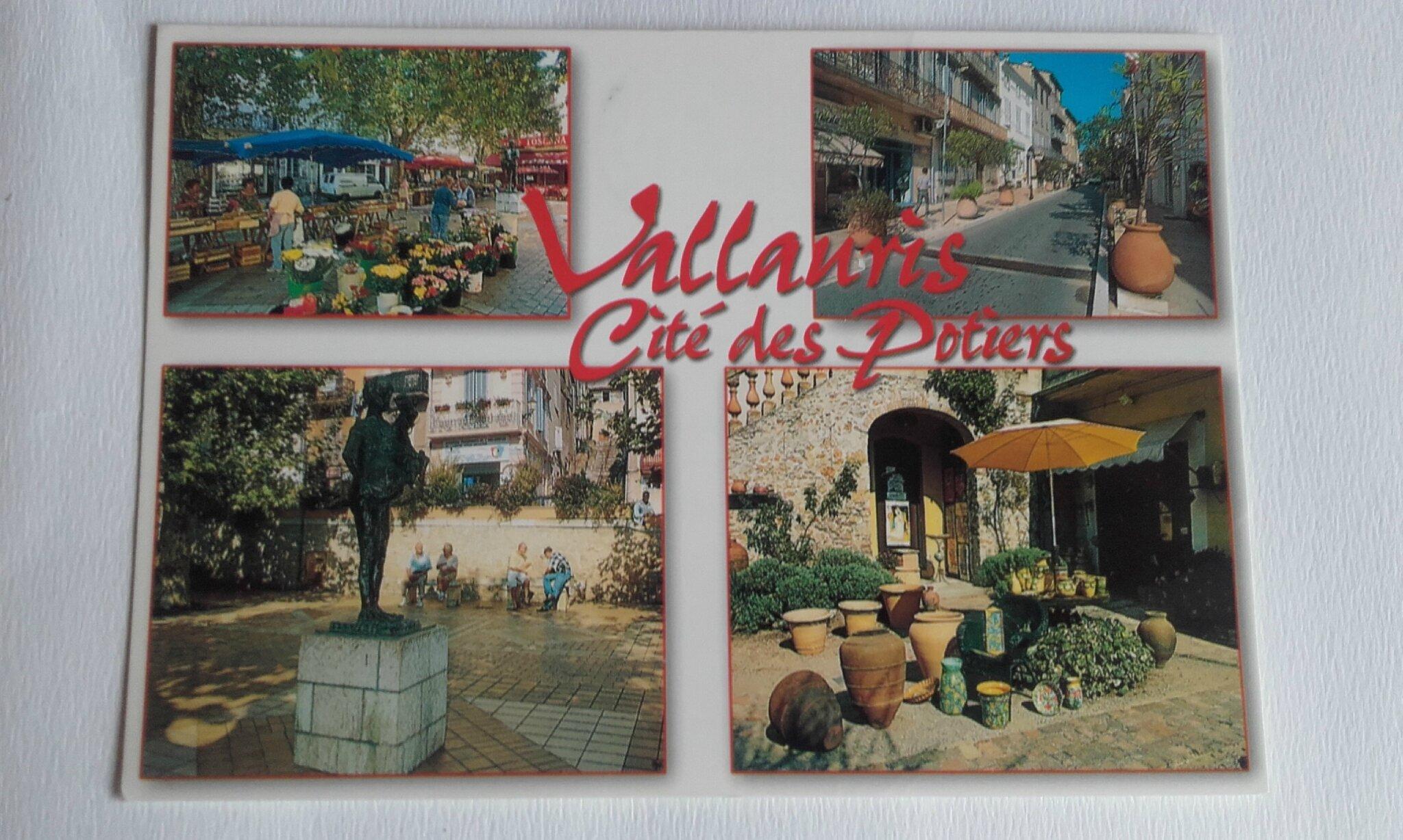 Vallauris datée 2001