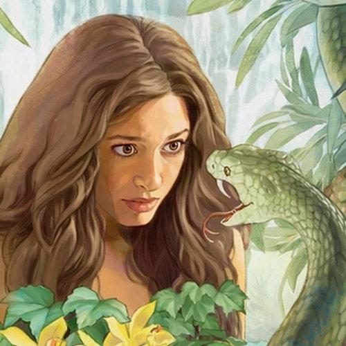abpw-Ève et le serpent