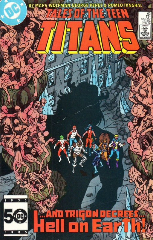 tales of the teen titans 62