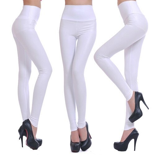 Hot-Sale-Faux-Leather-High-Waist-Leggings-Stretch-PU-Material-Pants-Ladies-Fashion-Leather-Leggings (4)