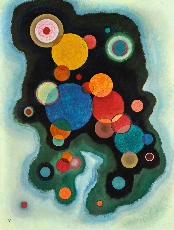 Wassily Kandinsky (1866 - 1944), Vertiefte Regung (Deepened Impulse)
