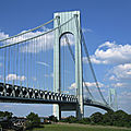 Pont verrazano - new york - etats-unis
