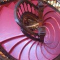 Escalier de la librairie Lello et Irmao à Porto