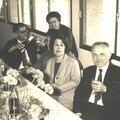 Mme Geiregat, Melles Jalodin et Dufour, M. Sabatié
