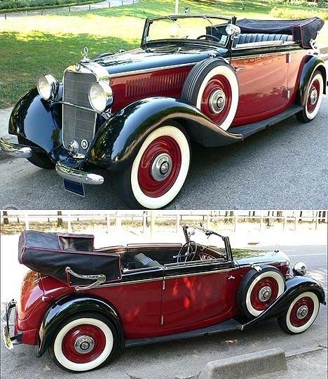 MERCEDES - 230 (W21) B Cabriolet - 1936