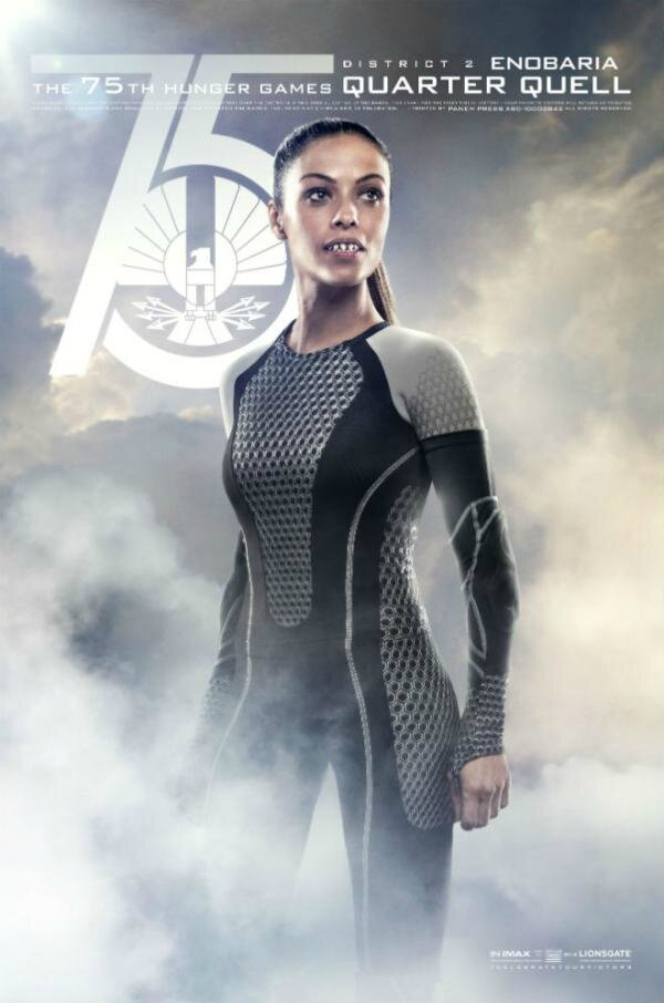 Catching Fire Enobaria