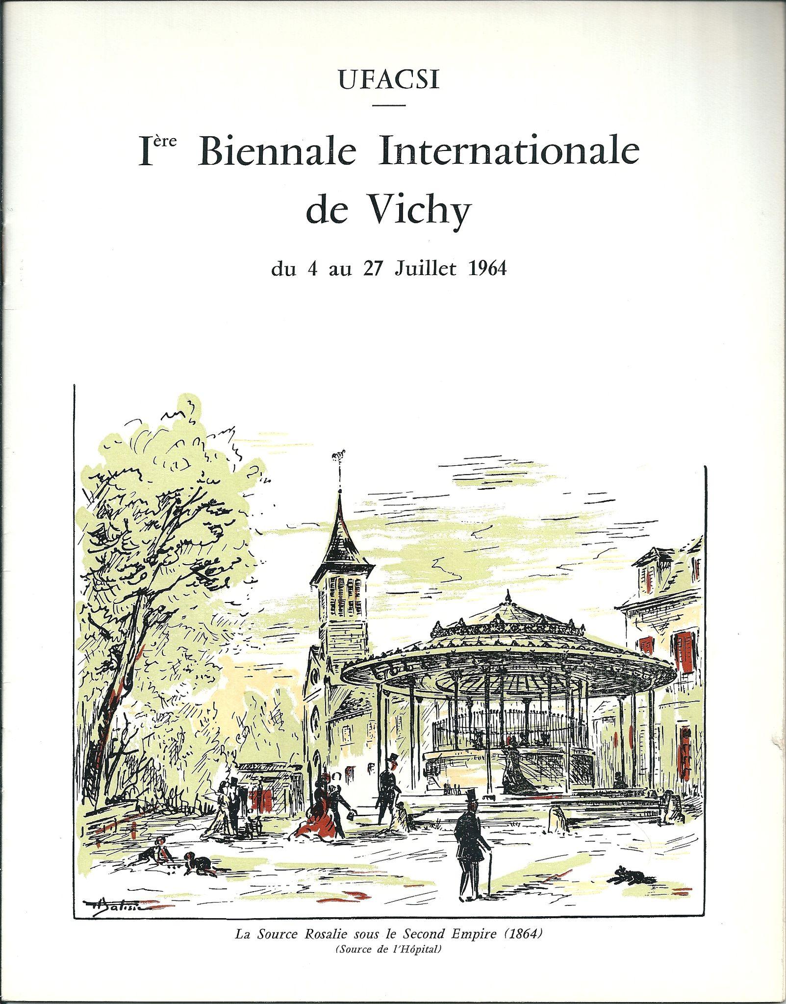UFACSI - 1ère Biennale Internationale de Vichy 1964