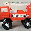 Camion man pompiers espagnols marque karpan