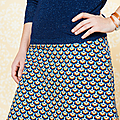 Soft Cactus Fabric - Colorset Blueprint Apricot - Seashore Shelly - Detail 06