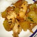 Poulet à l'ananas et marinade miel, citron, sauce soja d'audrey cuisine